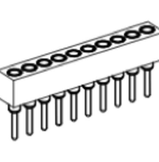 Produkt Nr. BP177101 (1.77 mm Pitch; THT)