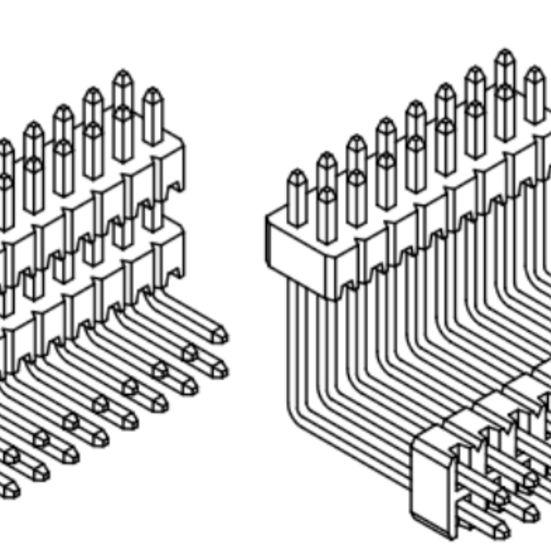 Produkt Nr. A127126 (1.27 mm Pitch; THT)