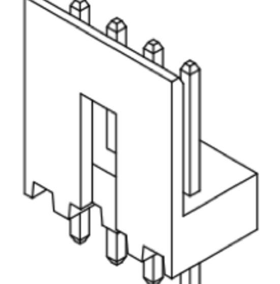 Produkt Nr. C250408 (2.50 mm Pitch; THT)