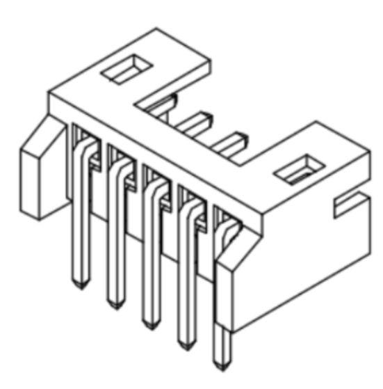Produkt Nr. C200401 (2.00 mm Pitch; THT)