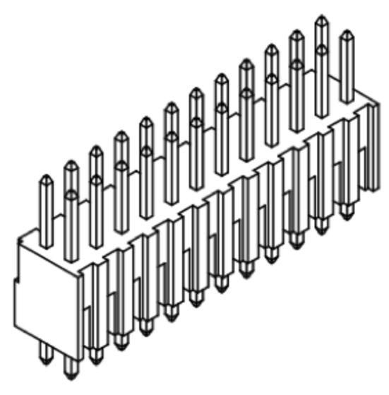 Produkt Nr. A254108 (2.54 mm Pitch; THT)