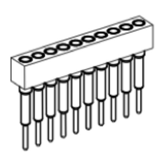 Produkt Nr. BP177103 (1.77 mm Pitch; THT)