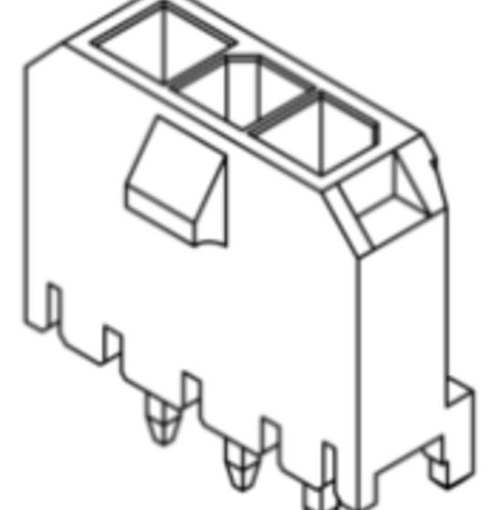 Produkt Nr. C300400 (3.00 mm Pitch; THT)
