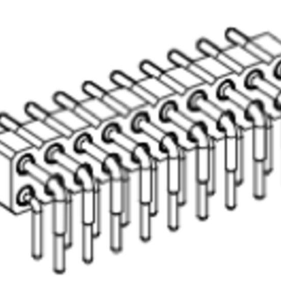 Produkt Nr. AP254126 (2.54 mm Pitch; THT)