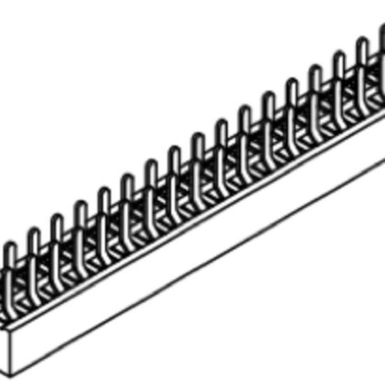 Produkt Nr. B127104 (1.27 mm Pitch; THT)