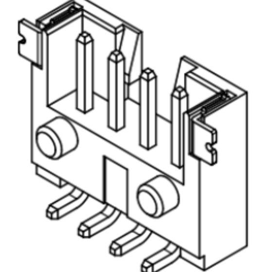 Produkt Nr. C200413 (2.00 mm Pitch; THT)