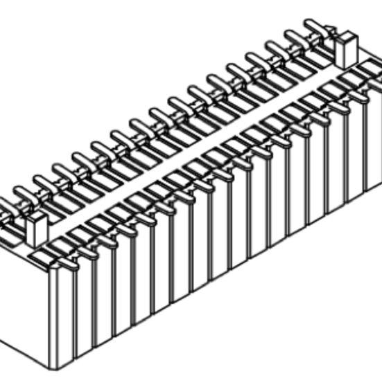 Produkt Nr. B127156 (1.27 mm Pitch; SMT)
