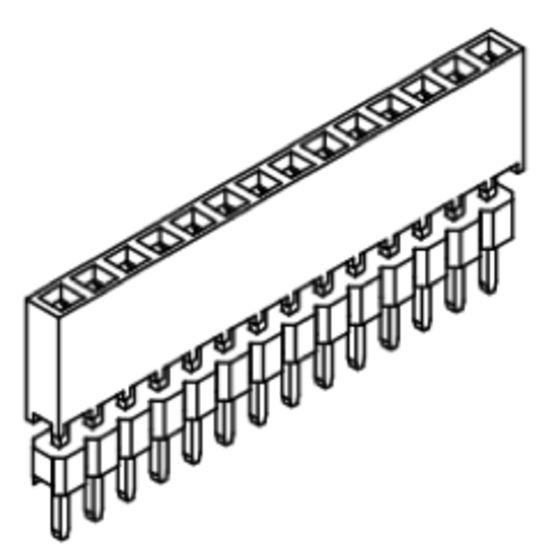 Produkt Nr. B200109 (2.00 mm Pitch; THT)