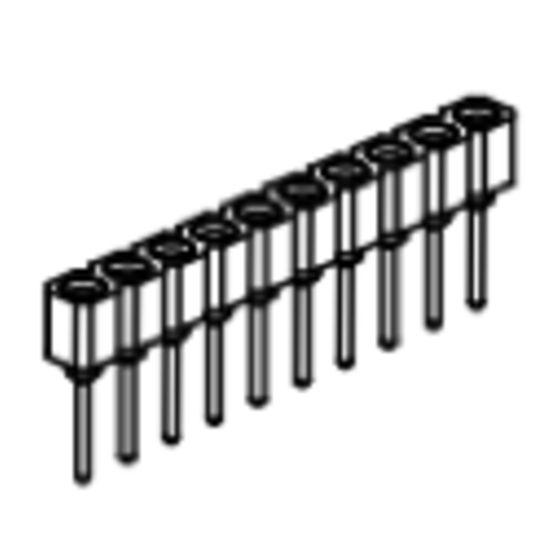 Produkt Nr. BP254109 (2.54 mm Pitch; THT)