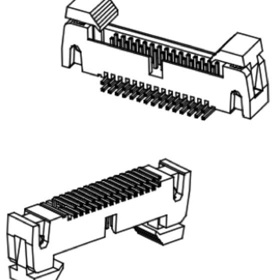 Produkt Nr. A127188 (1.27 mm Pitch; THT)