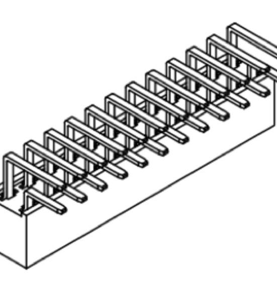 Produkt Nr. B254122 (2.54 mm Pitch; THT)