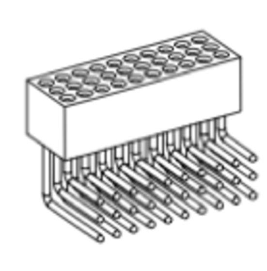 Produkt Nr. BP127122 (1.27 mm Pitch; THT)