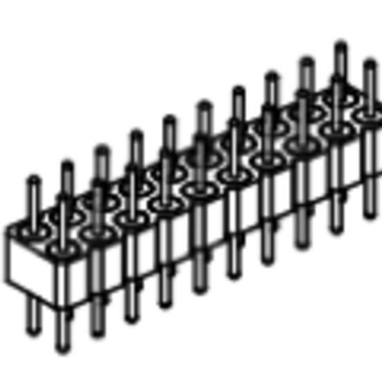 Produkt Nr. AP254106 (2.54 mm Pitch; THT)