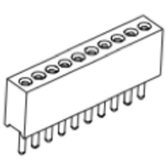 Produkt Nr. BP127101 (1.27 mm Pitch; THT)