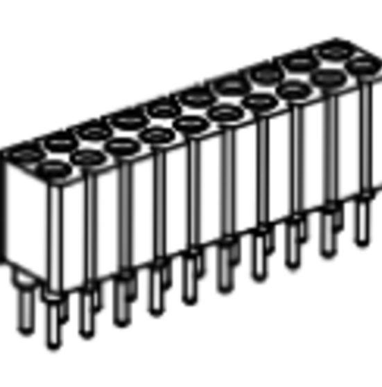 Produkt Nr. BP254126 (2.54 mm Pitch; THT)