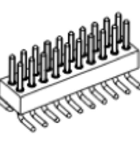 Produkt Nr. AP127150 (1.27 mm Pitch; SMT)