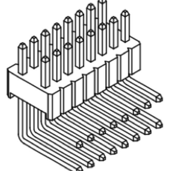 Produkt Nr. A127142 (1.27 mm Pitch; THT)