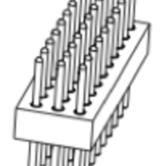 Produkt Nr. AP127103 (1.27 mm Pitch; THT)