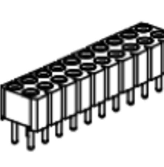 Produkt Nr. BP254120 (2.54 mm Pitch; THT)