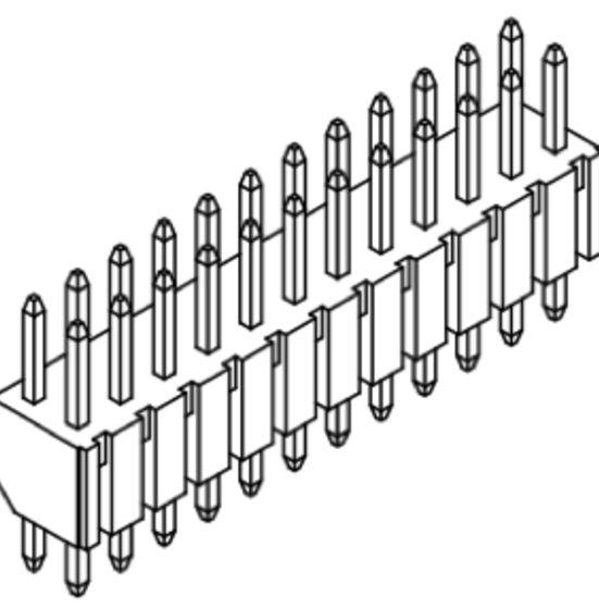 Produkt Nr. A200106 (2.00 mm Pitch; THT)