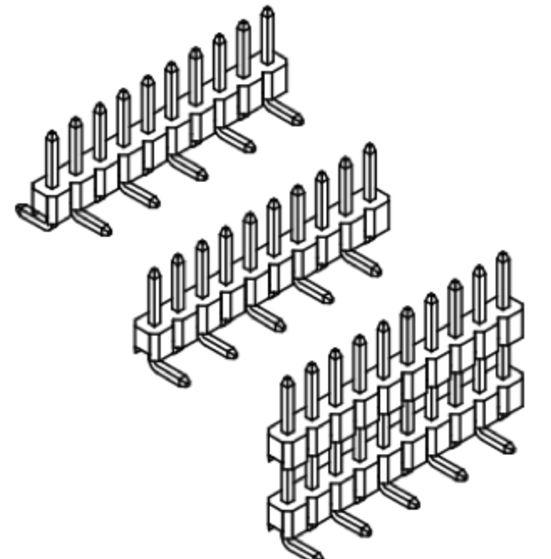 Produkt Nr. A127151 (1.27 mm Pitch; SMT)