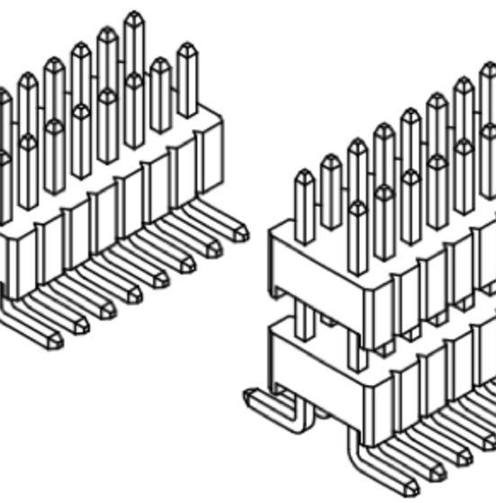 Produkt Nr. A127146 (1,27 mm Pitch; SMT)