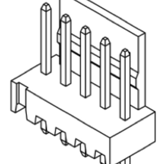Produkt Nr. C254402 (2.54 mm Pitch; THT)